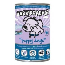 BARKING HEADS Puppy Days Salmon konz. 400g new