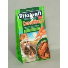 Vitakraft all Rodent poch. Carotties mini Hamster 50g