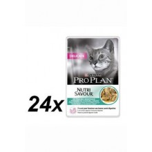ProPlan Cat  kaps. Delic. O.Fisch 24x85g