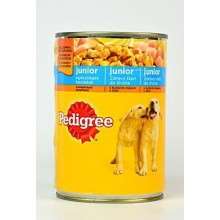 Pedigree konzerva Junior kuřecí 400g