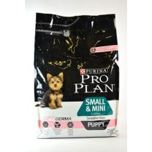 ProPlan Dog Puppy Sm&Mini Optiderma losos 3kg