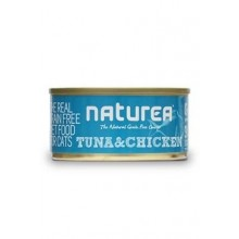 Naturea GF cat vlhké - Tuna, Chicken 80g