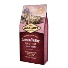 Carnilove Cat Salmon & Turkey for Kittens HG 6kg