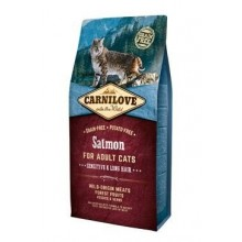 Carnilove Cat Salmon for Adult Sensitiv & LH  6kg