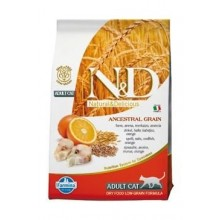 N&D LG CAT Adult Codfish & Orange 5kg