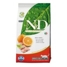 N&D GF CAT Adult Fish & Orange 5kg