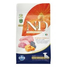 N&D Pumpkin DOG Puppy Mini Lamb & Blueberry 800g