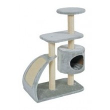 Škrabadlo WAVE cat tree L šedá 91cm Zolux