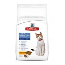 Hill's Feline Dry Adult7+Active Longevity Chicken 10kg