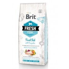 Brit Fresh Dog Fish & Pumpkin Adult Large 12kg