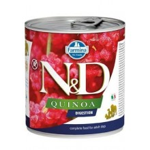 N&D DOG QUINOA Adult Digestion Lamb & Fennel 285g