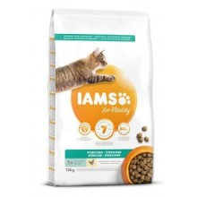 Iams Cat Adult Sterilized Chicken 10kg