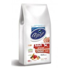 Agil Adult All Breed Low Grain Chicken,Lamb,Tuna 10kg