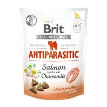 Brit Care Dog Functional Snack Antiparasit Salmon 150g