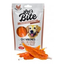 Brit Let's Bite Chewbones Calcium&Chicken Fillet 300g
