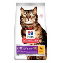 Hill's Fel. Dry SP Adult Sen.Stomach&Skin Chicken 7kg