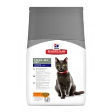 Hill's Fel. Dry SP Mat Adult7+Steril.Cat Chicken 3kg