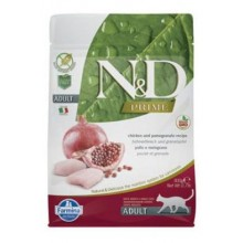 N&D PRIME CAT Neutered Chicken&Pomegranate 1,5kg
