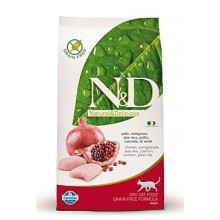 N&D Grain Free CAT Adult Chicken & Pomegranate 300g