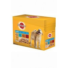 Pedigree kapsa Junior pack mix v želé 12x100g