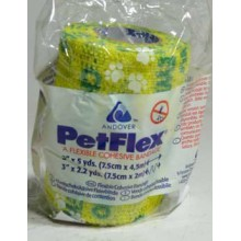 Obinadlo elast. Pet-Flex No Chew 7,5cmx4,5m 1ks